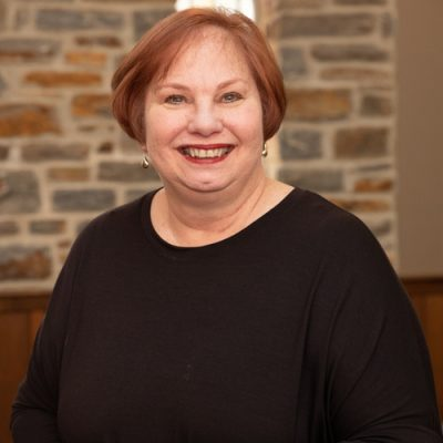 Headshot of Jenness Hall, Director of Children & Family Ministries at Towson Presbyterian Church.