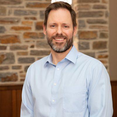Headshot of Joel Strom, Associate Pastor at Towson Presbyterian Church.