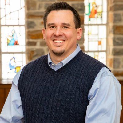 Headshot of Rob Carter, Senior Pastor of Towson Presbyterian Church.